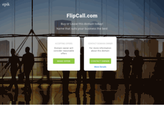 flipcall.com screenshot