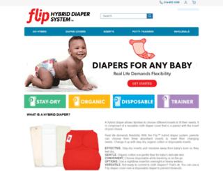 flipdiapers.com screenshot