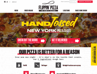 flippinpizza.com screenshot