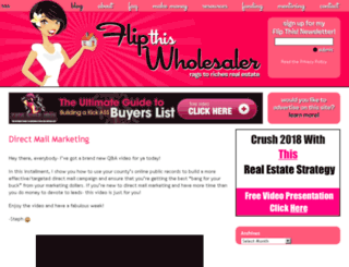 flipthiswholesaler.net screenshot