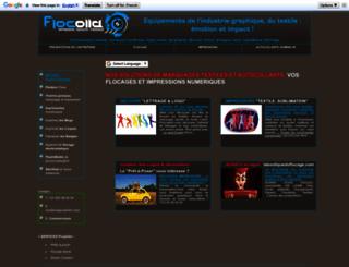 flocolla.fr screenshot
