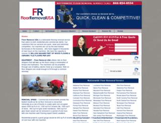 floorremovalusa.com screenshot