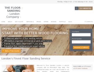 floorsanders.london screenshot