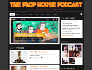 flophousepodcast.com screenshot