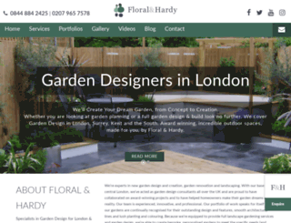 floralandhardy.co.uk screenshot