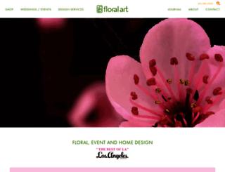 floralartla.com screenshot