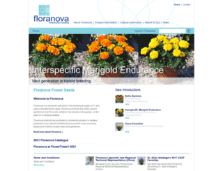 floranova.co.uk screenshot