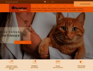 flordeprata.com.br screenshot