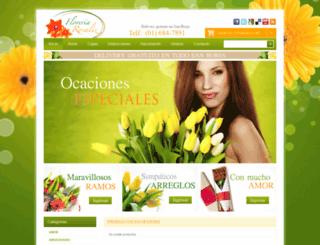 floreriasanborjarosaliz.com screenshot