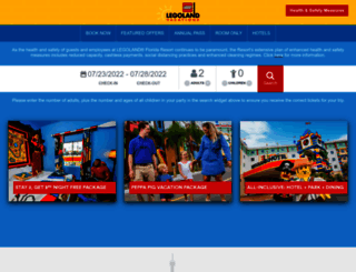 florida.legolandtravel.com screenshot
