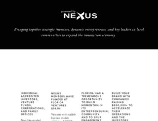floridaangelnexus.org screenshot