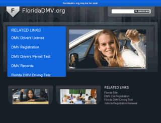floridadmv.org screenshot