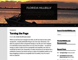 floridahillbilly.com screenshot