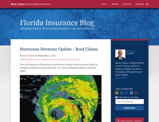 floridainsuranceblog.com screenshot