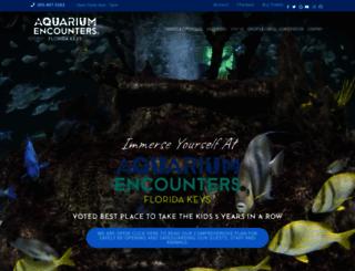 floridakeysaquariumencounters.com screenshot