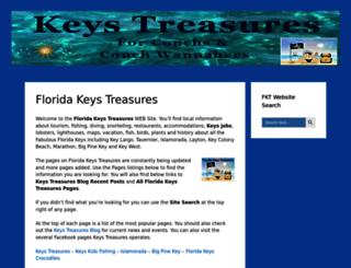 floridakeystreasures.com screenshot