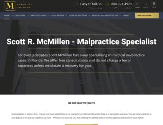 floridamalpractice.com screenshot