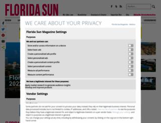 floridasunmagazine.com screenshot