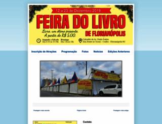 floripafeiradolivro.blogspot.com.br screenshot
