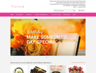 florista.in screenshot