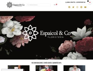 floristeriaespaicol.com screenshot
