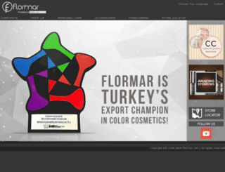 flormar.co.uk screenshot