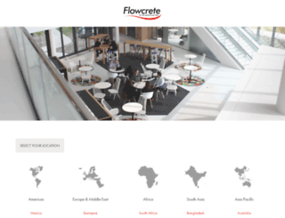 flowcrete.com screenshot