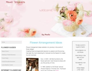 flower-arrangement-ideas.com screenshot