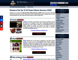 flower-delivery-uk.no1reviews.com screenshot