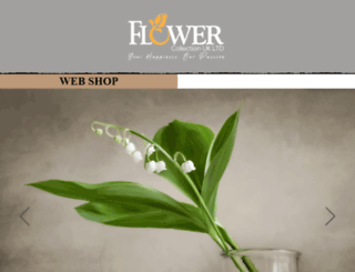 flowercollectionuk.com screenshot