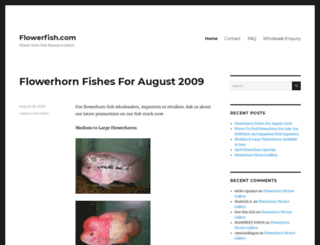 flowerfish.com screenshot