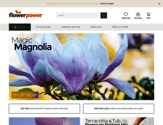 flowerpower.com.au screenshot