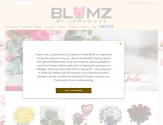 flowersbyblumz.com screenshot