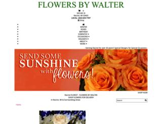 flowersbywalter.com screenshot