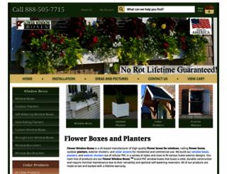 flowerwindowboxes.com screenshot
