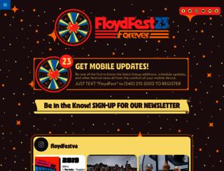 floydfest.com screenshot