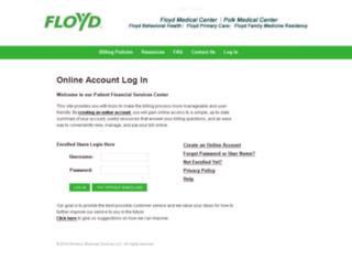 floydmedcenter.ixt.com screenshot