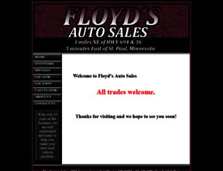 floydsautosales.com screenshot