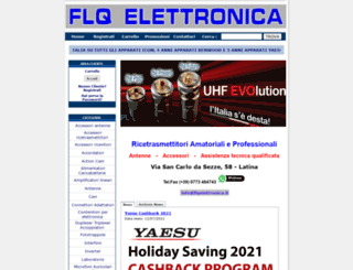 flqelettronica.it screenshot