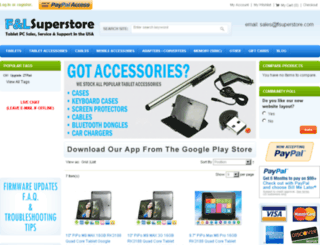 flsuperstore.com screenshot