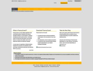 fluencycoach.com screenshot
