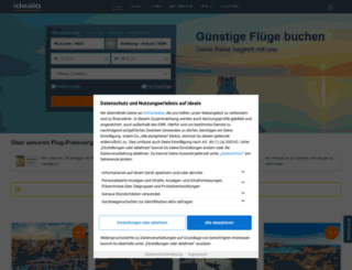 flug.idealo.de screenshot