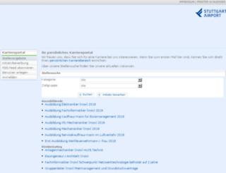 flughafen-stuttgart-jobs.dvinci.de screenshot