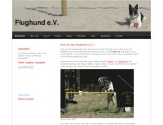 flughund.jimdo.com screenshot