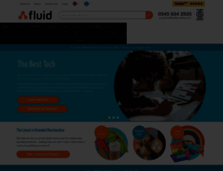 fluidbranding.com screenshot