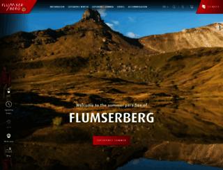 flumserberg.ch screenshot