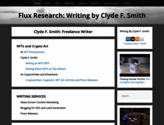 fluxresearch.com screenshot