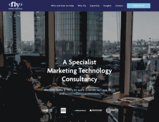 fly.marketing screenshot
