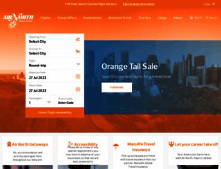 flyairnorth.com screenshot
