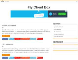 flycloudbox.com screenshot